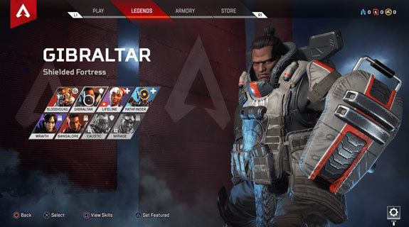 Apex Legends Gibraltar yetenekler