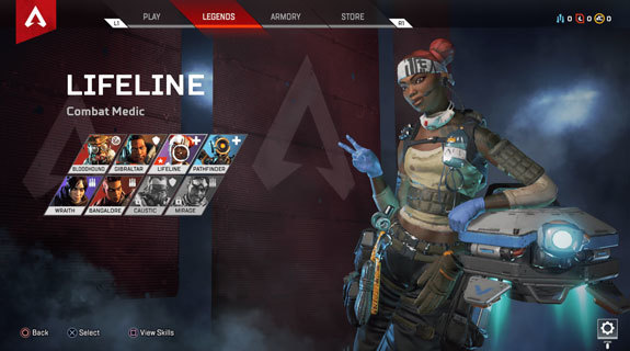 Apex Legends Lifeline yetenekler