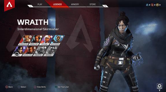 Apex Legends Wraith yetenekler