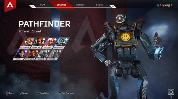 Apex Legends Pathfinder yetenekler