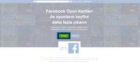 Facebook Hesabımıza Giriş Yaparak Kod Kullan Seçeneğine Tıklıyoruz