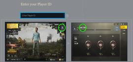 İşaretli yere player ID yazın. (Yeşille gösterilen kısım ID'nizi nasıl bulacağınızı gösteriyor.)