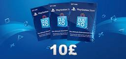Playstation UK Card