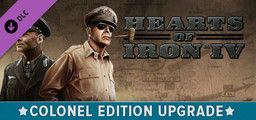 Hearts of Iron IV Colonel Edition Upgrade Pack