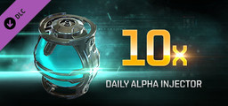 EVE Online 10 Daily Alpha Injectors