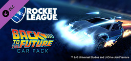 Rocket League - Back to the Future Car Pack - Steam