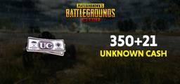 Pubg Mobile 350+21 Unknown Cash