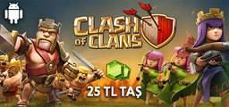 Clash Of Clans Yeşil Taş