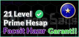 21 LVL Prime Hesap