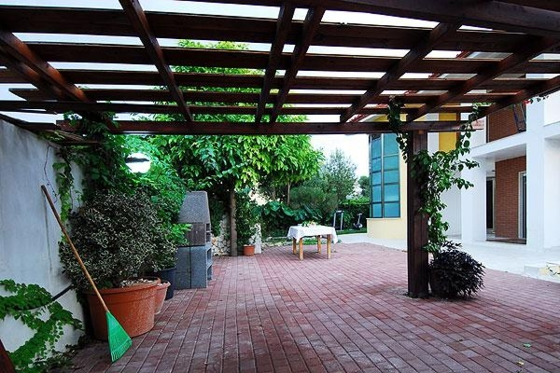 External patio