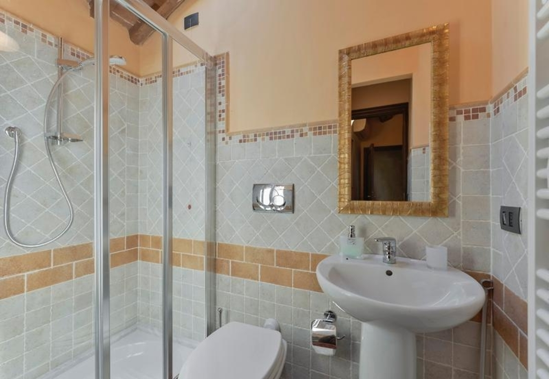 Bathroom with shower 2