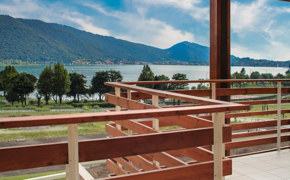 views of the Iseo Lake