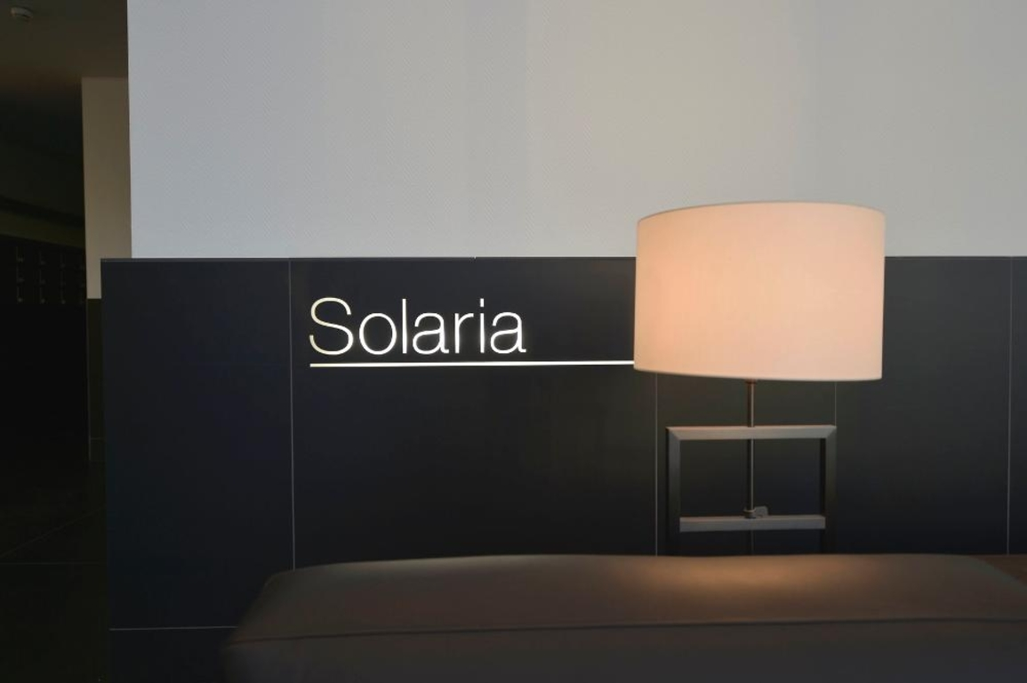 reception of the Solaria Tower