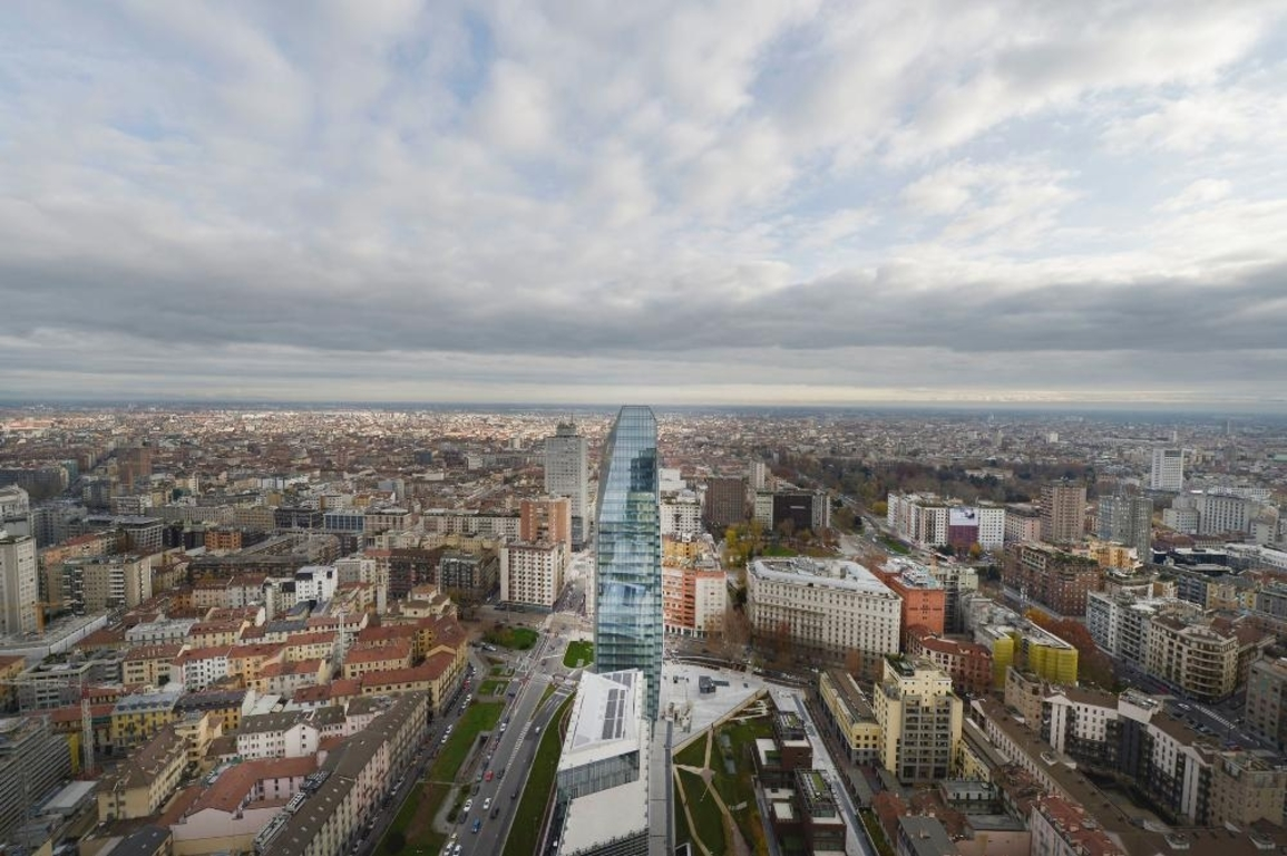 views of Milan Porta Nuova