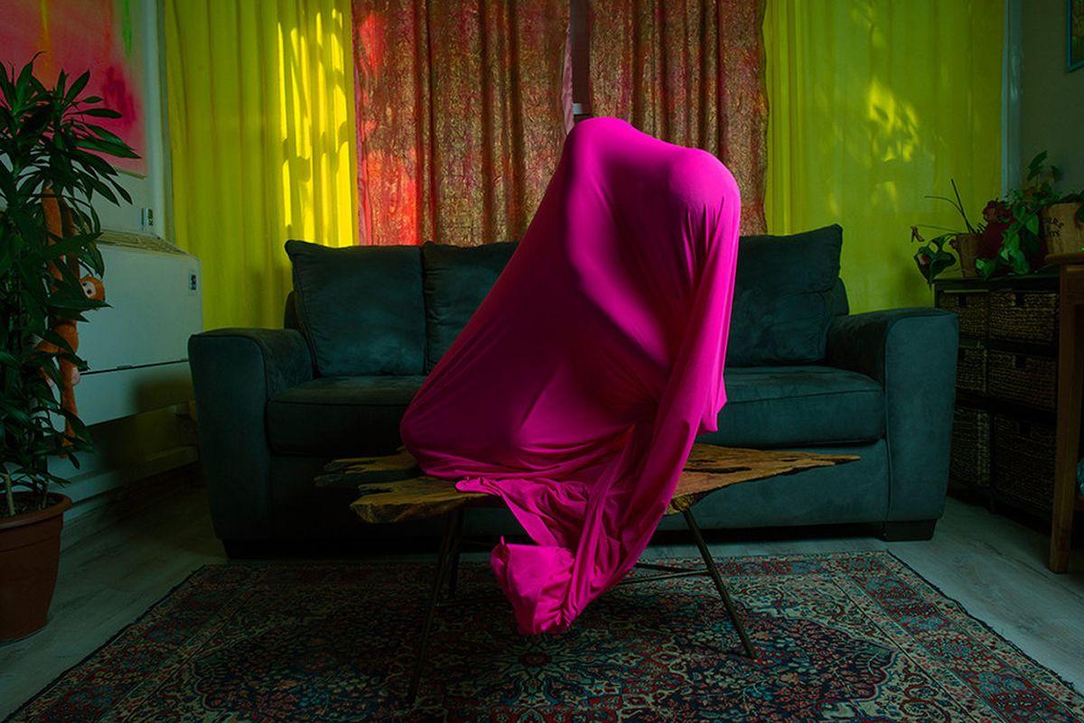 Untitled 1 Living Room Sculpture pink