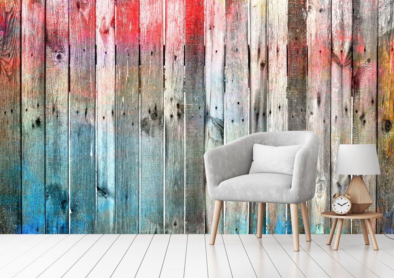 טפטים מיוחדים לסלון – חיפוי דמוי עץ