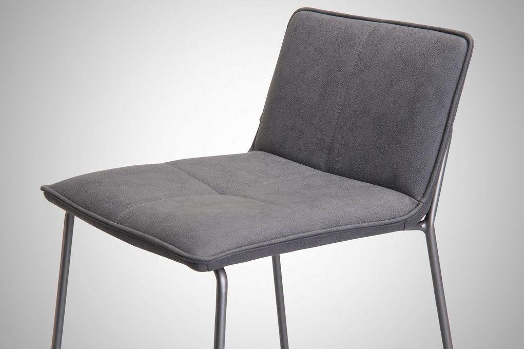 כסא בר טיו אפור