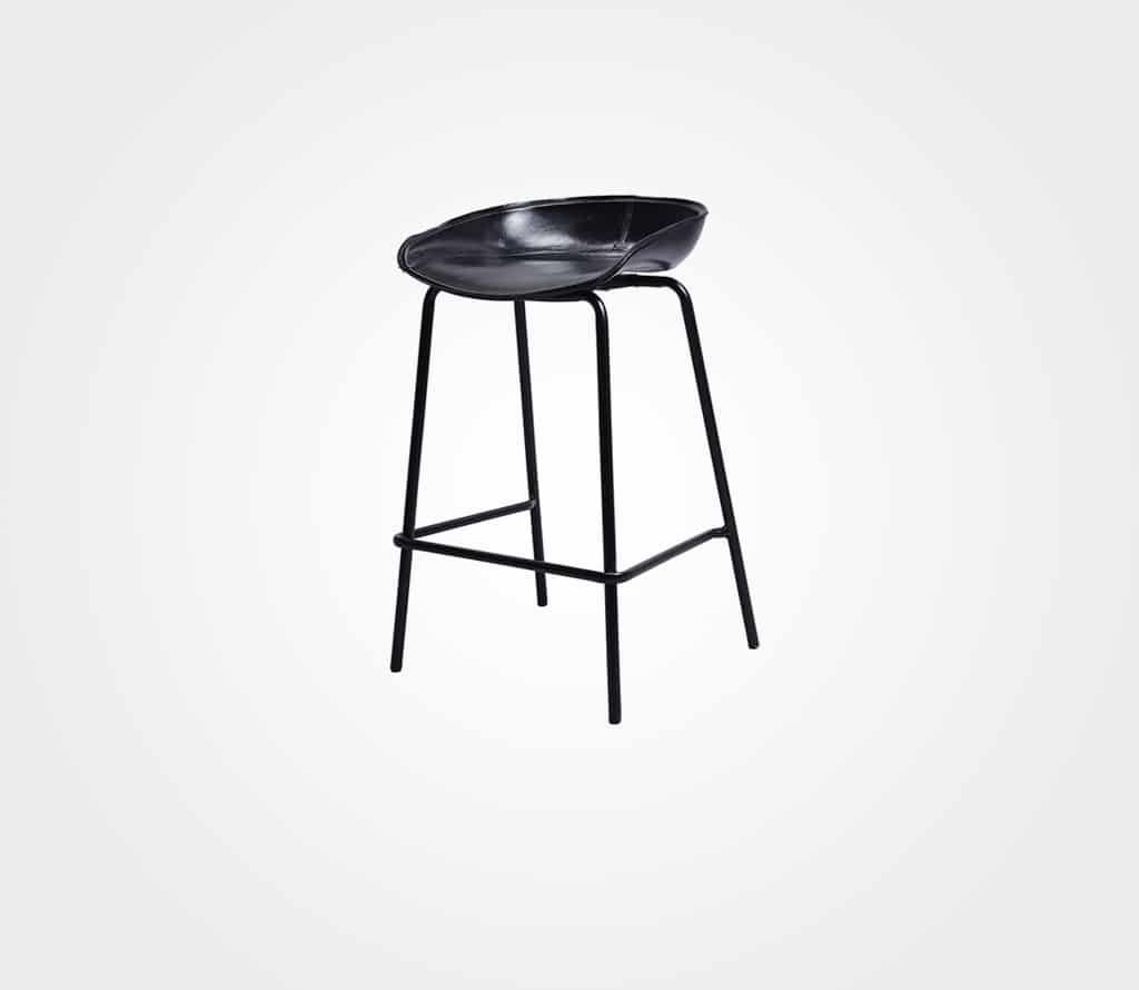 כסא בר Cherry – שחור
