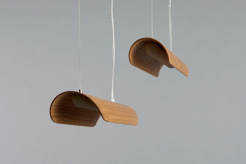 מנורת קאנו – מעץ אגוז