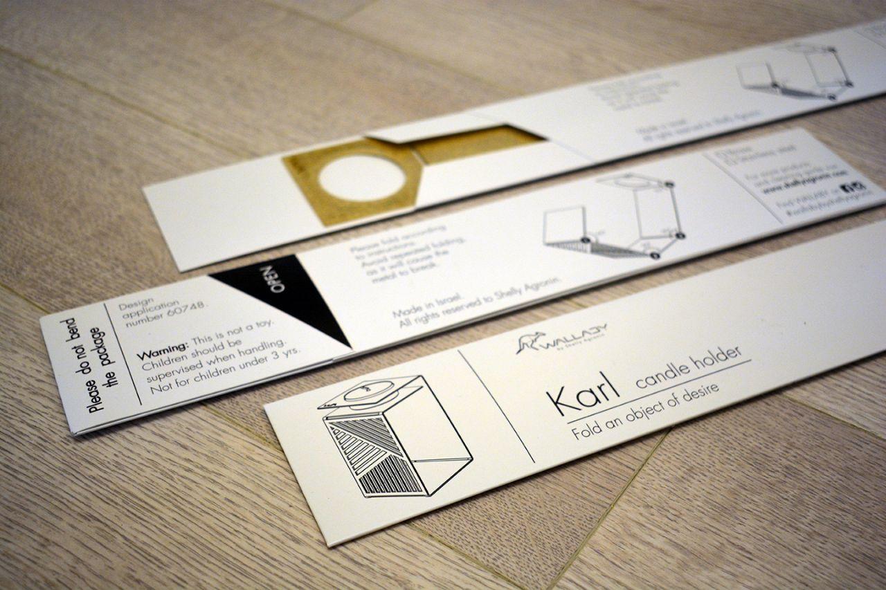 Karl&Klara – זוג פמוטים מתקפלים