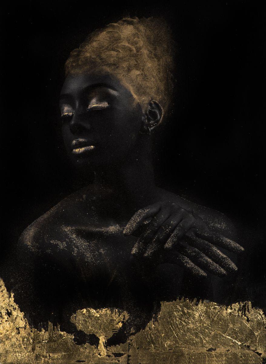 Gold on Black HM 1
