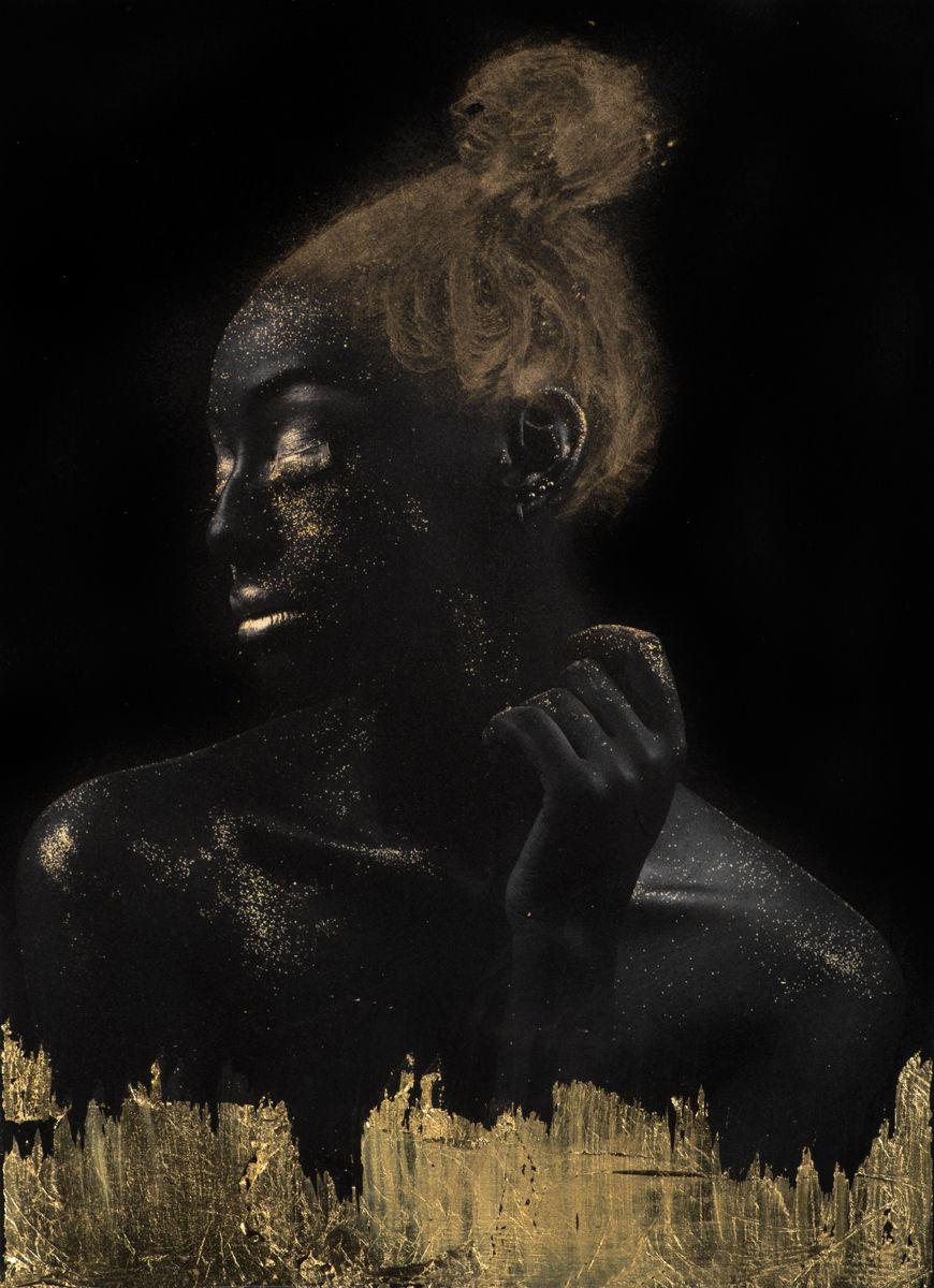 Gold on Black HM 3