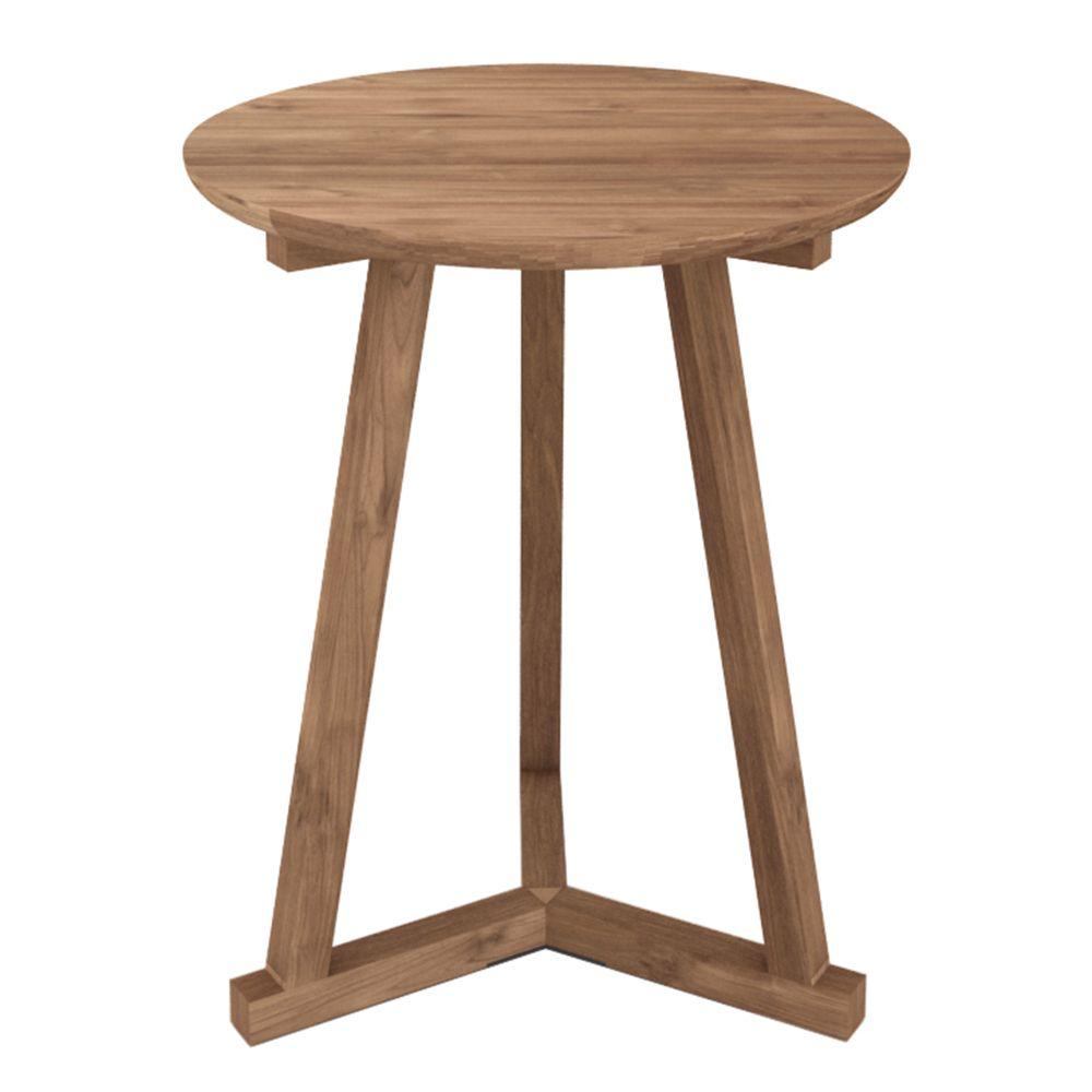 שולחן צד טיק Tripod