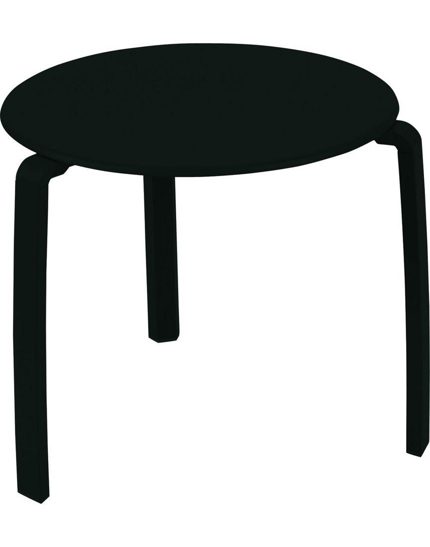 שולחן קפה לגינה Aliza שחור
