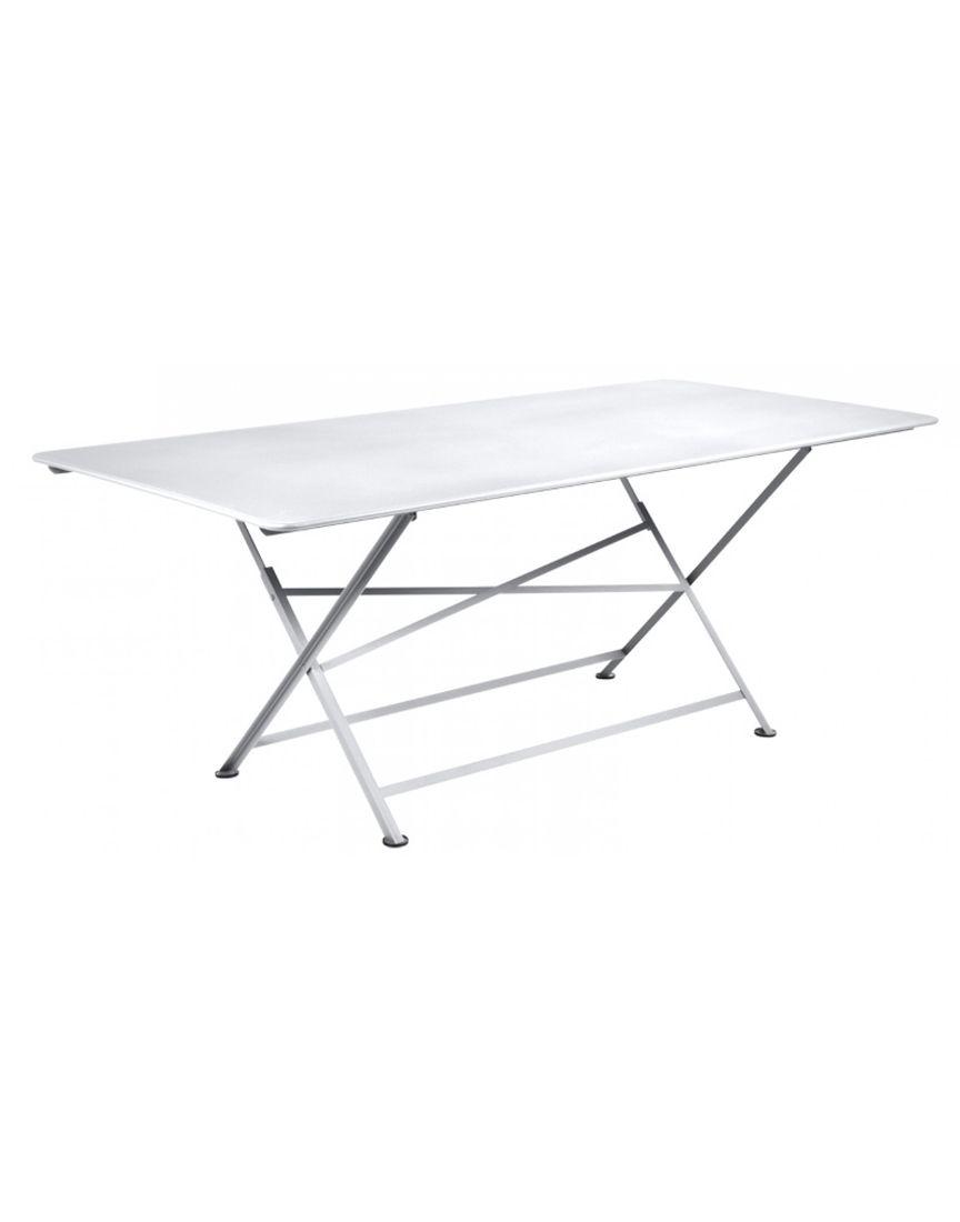 שולחן אוכל לגינה Cargo לבן