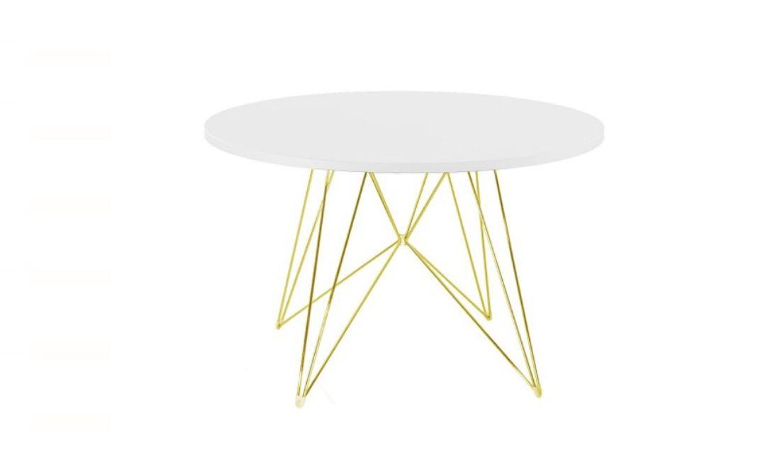 שולחן עגול XZ 3 לבן