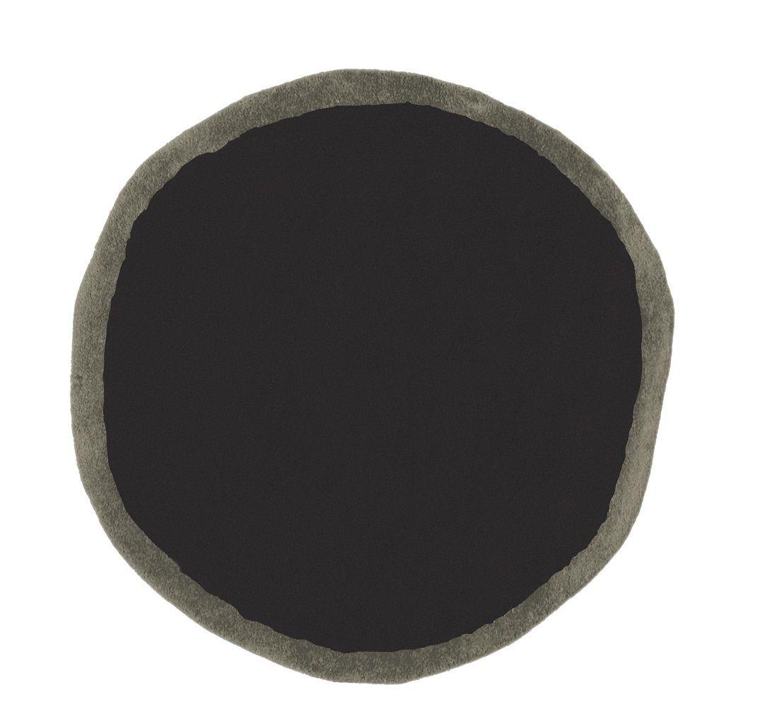 שטיח עגול AROS שחור