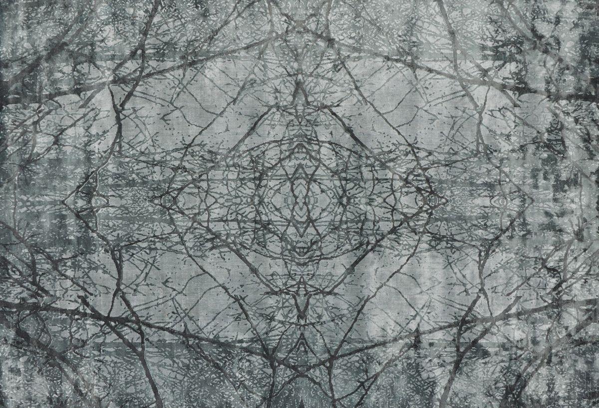 שטיח אפור עם טקסטורה AIMI