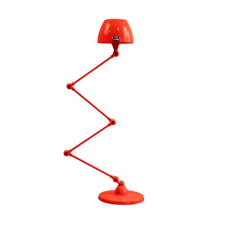תאורת עמידה דקורטיבית בצבע אדום