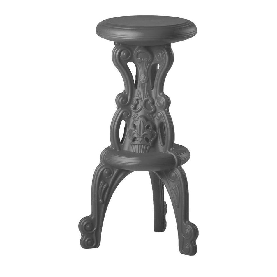 כסא בר בצבע אפור