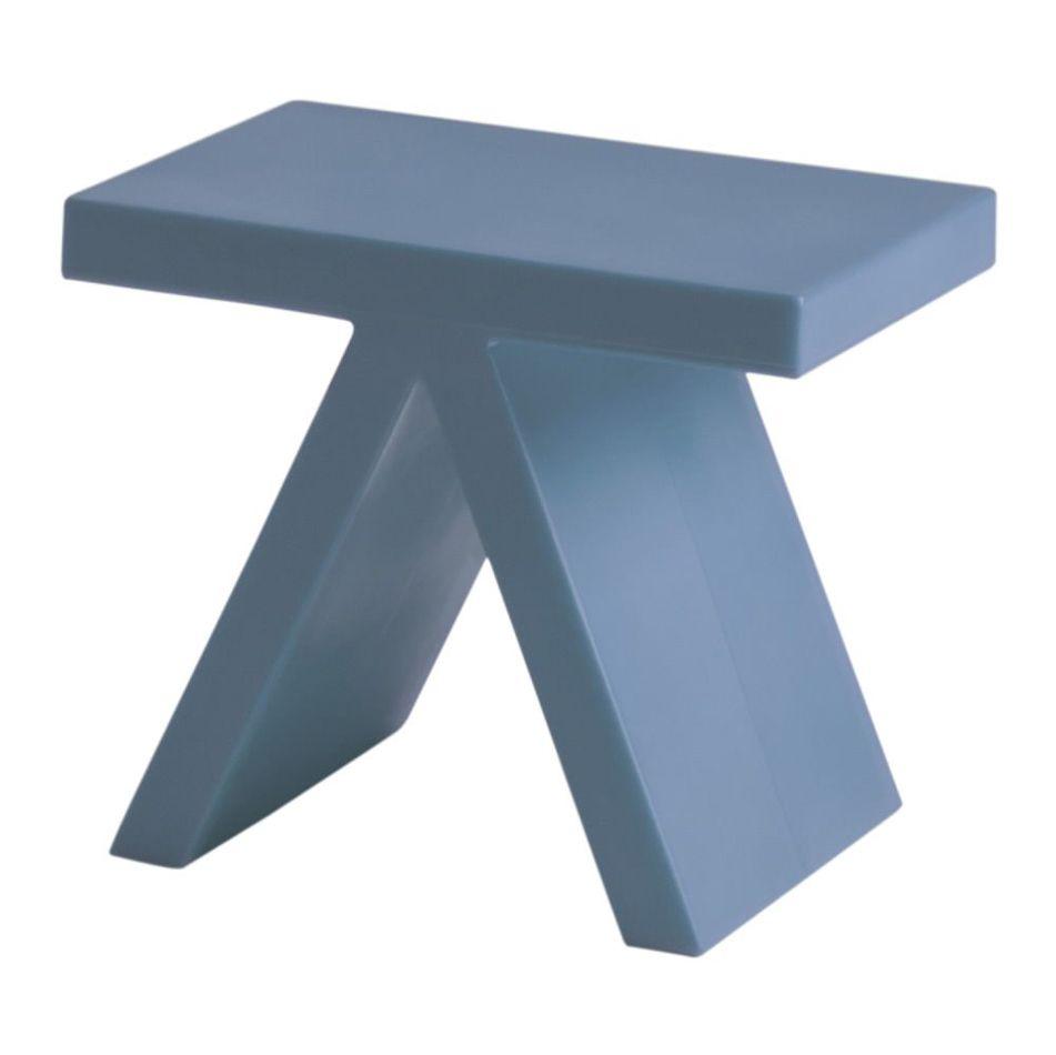 שולחן צד בצבע כחול