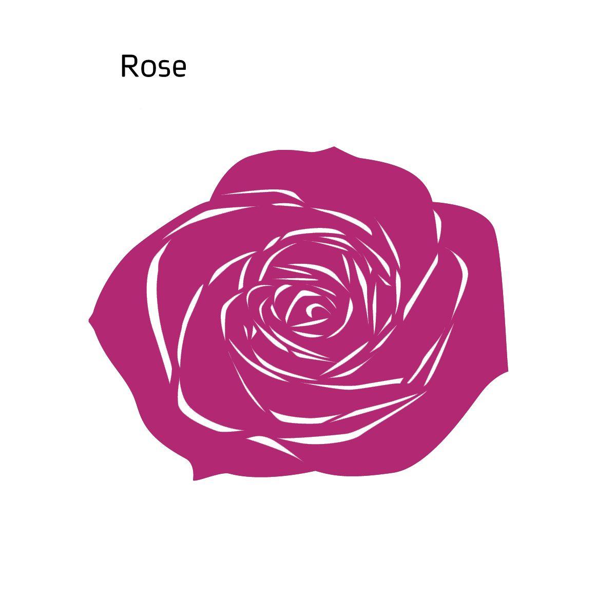 שטיח לבד ROSE בצבע מג'נטה
