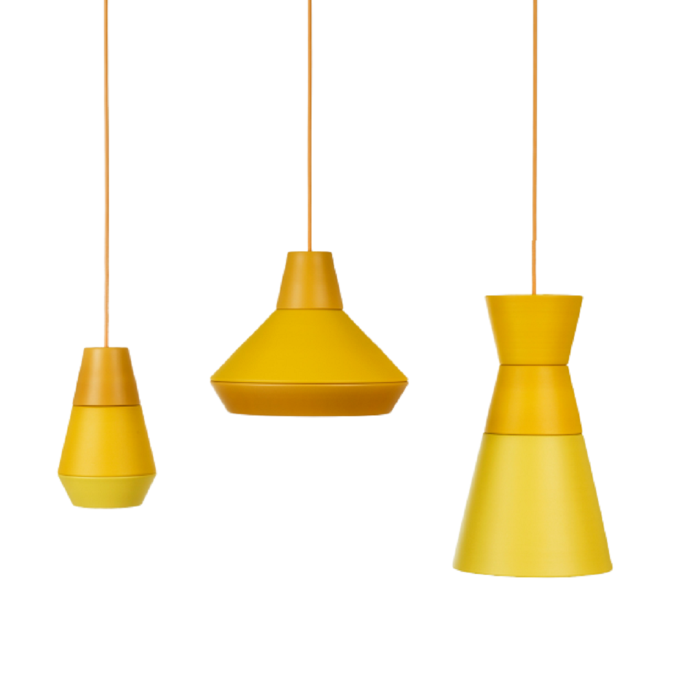 תאורה תלויה בצבע צהוב BBC