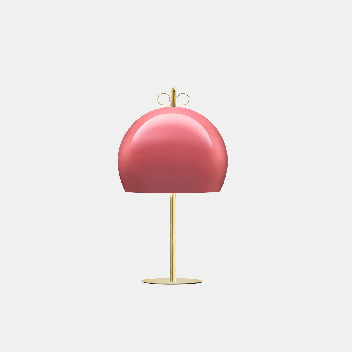 מנורת שולחן – בצבע ורוד N10_30