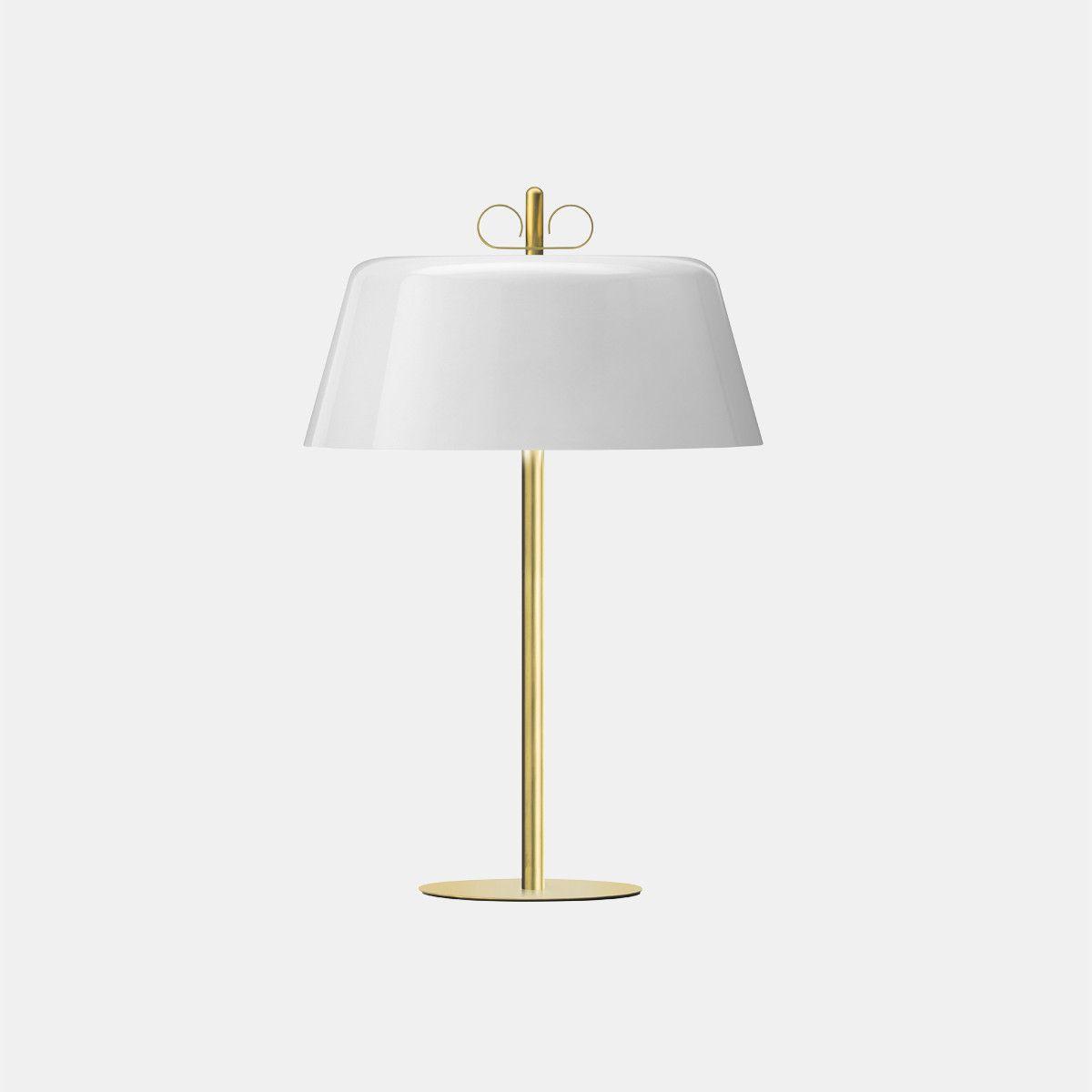 מנורת שולחן – בצבע לבן N12_30