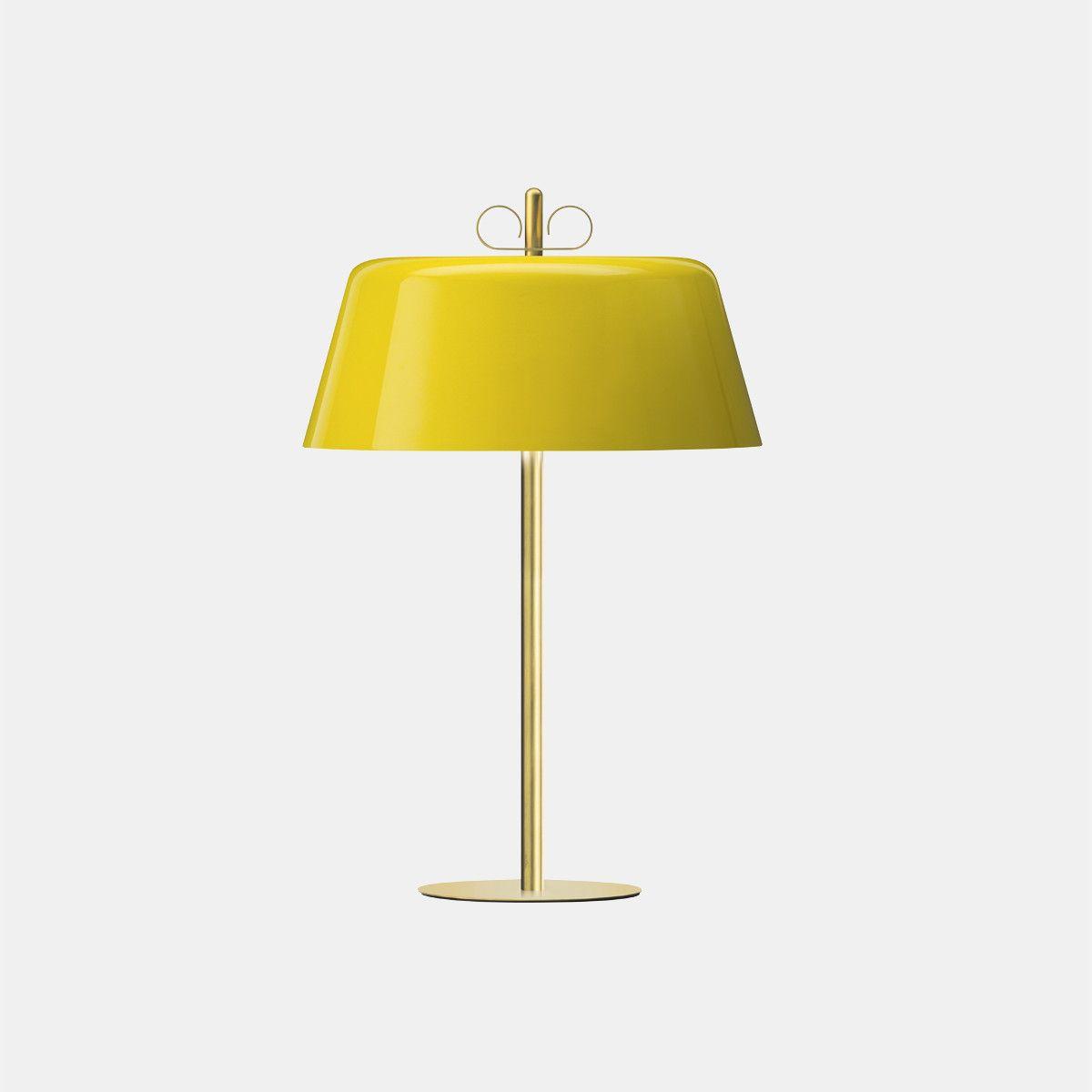 מנורת שולחן – בצבע צהוב N12_30