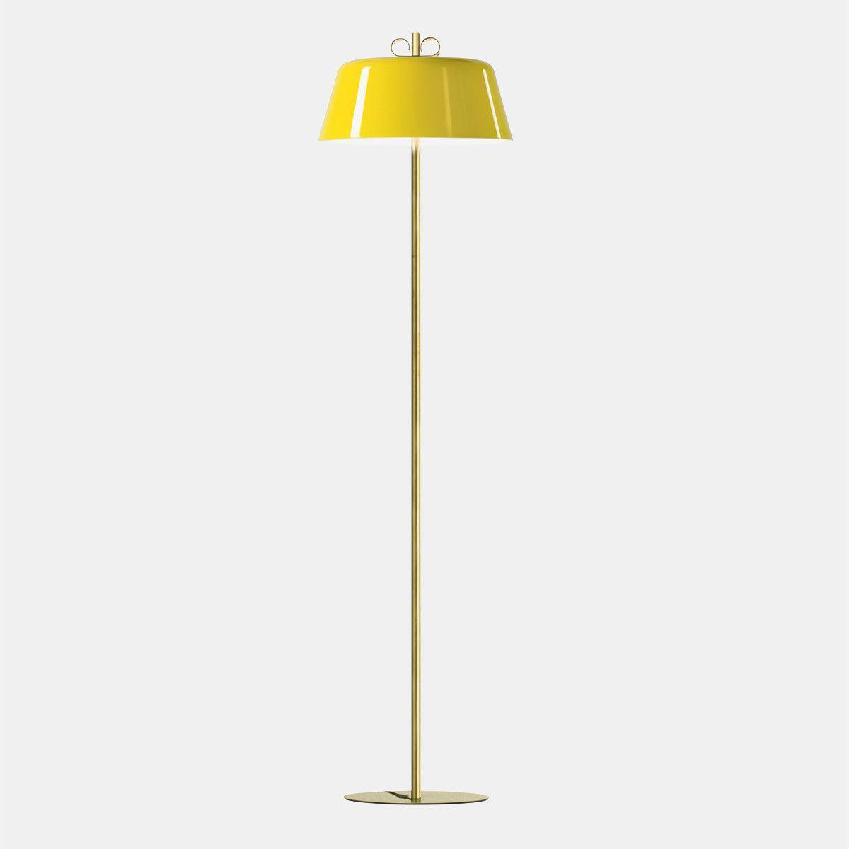 מנורת עמידה – בצבע צהוב N15_30