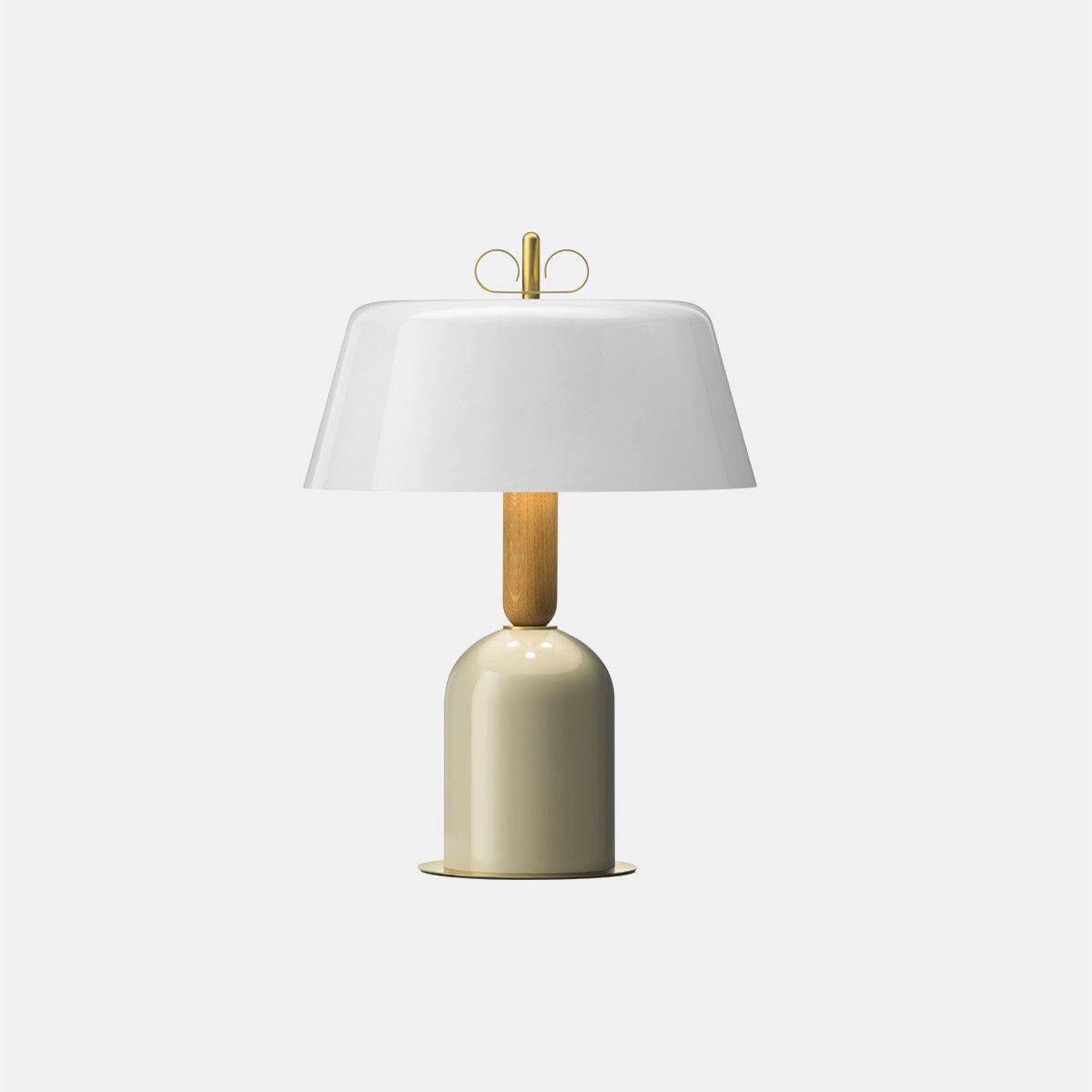 מנורת שולחן – בצבע לבן N6_3EO