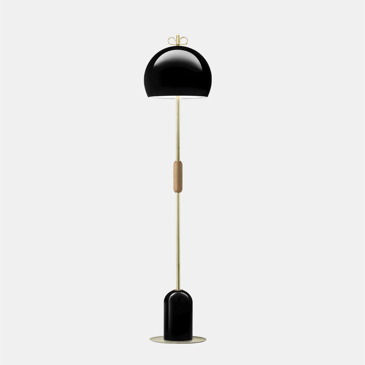 מנורת עמידה – בצבע שחור N10_30