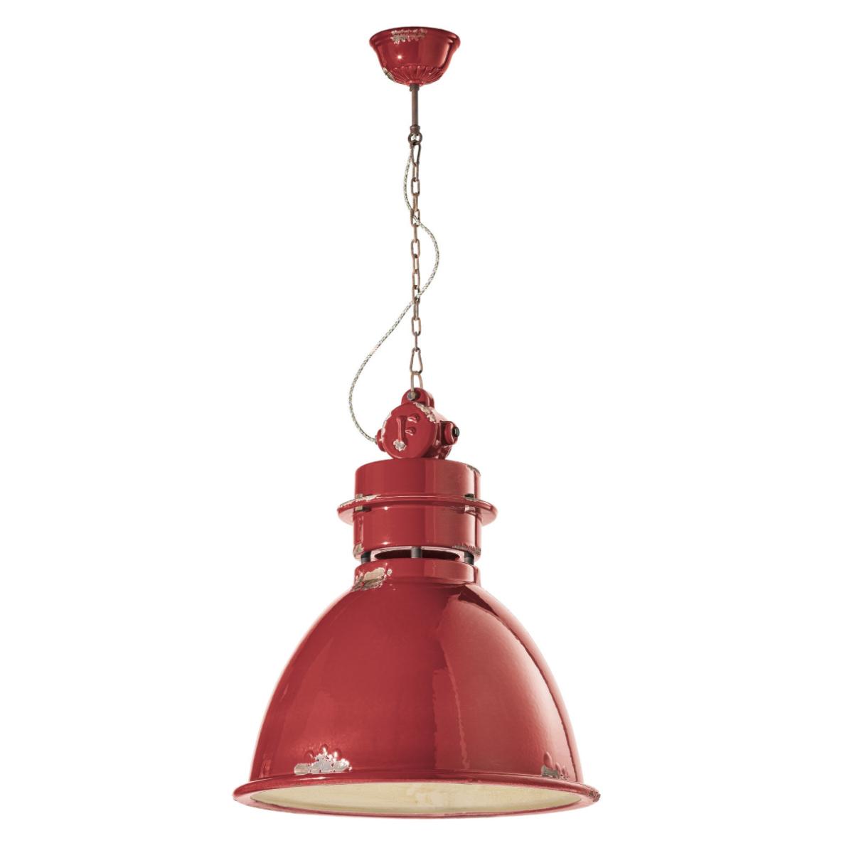גוף תאורה בסגנון אורבני – בצבע אדום C-1750