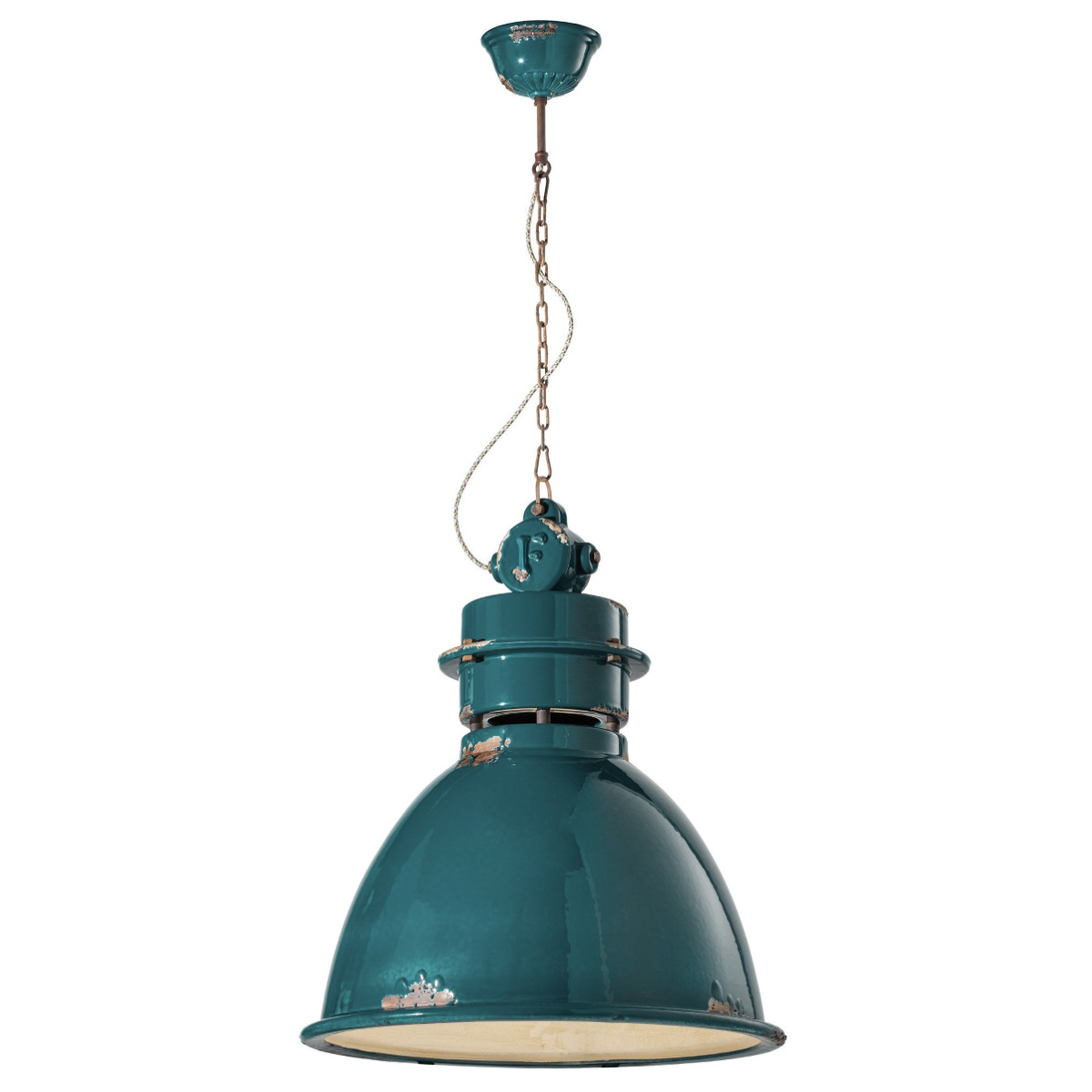 גוף תאורה בסגנון אורבני – בצבע טורקיז C-1750