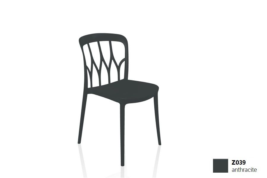 כסא פינת אוכל בצבע שחור Galaxy