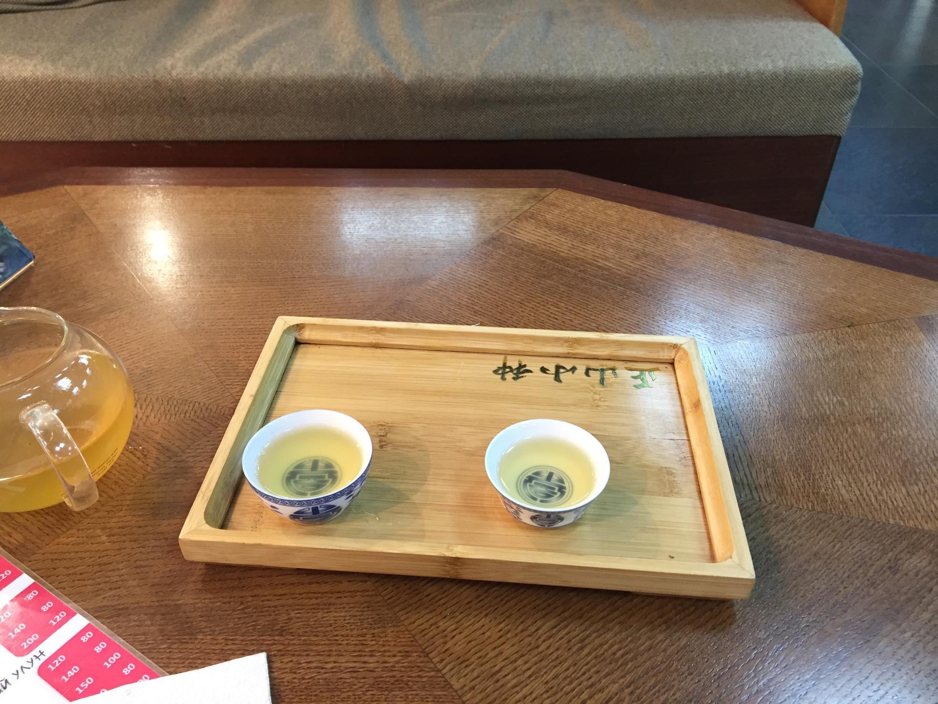 чай китайской панды