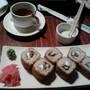 Кафе итальянской и японской кухни Японский дворик
