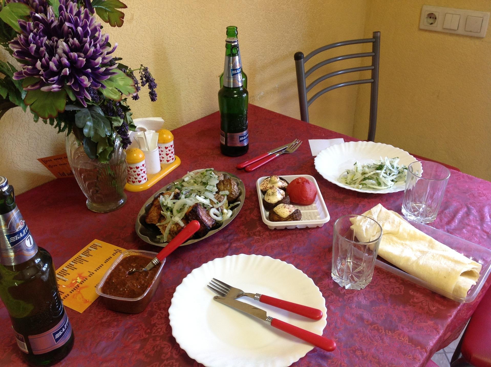 Доставка еды в астане goodfood астана