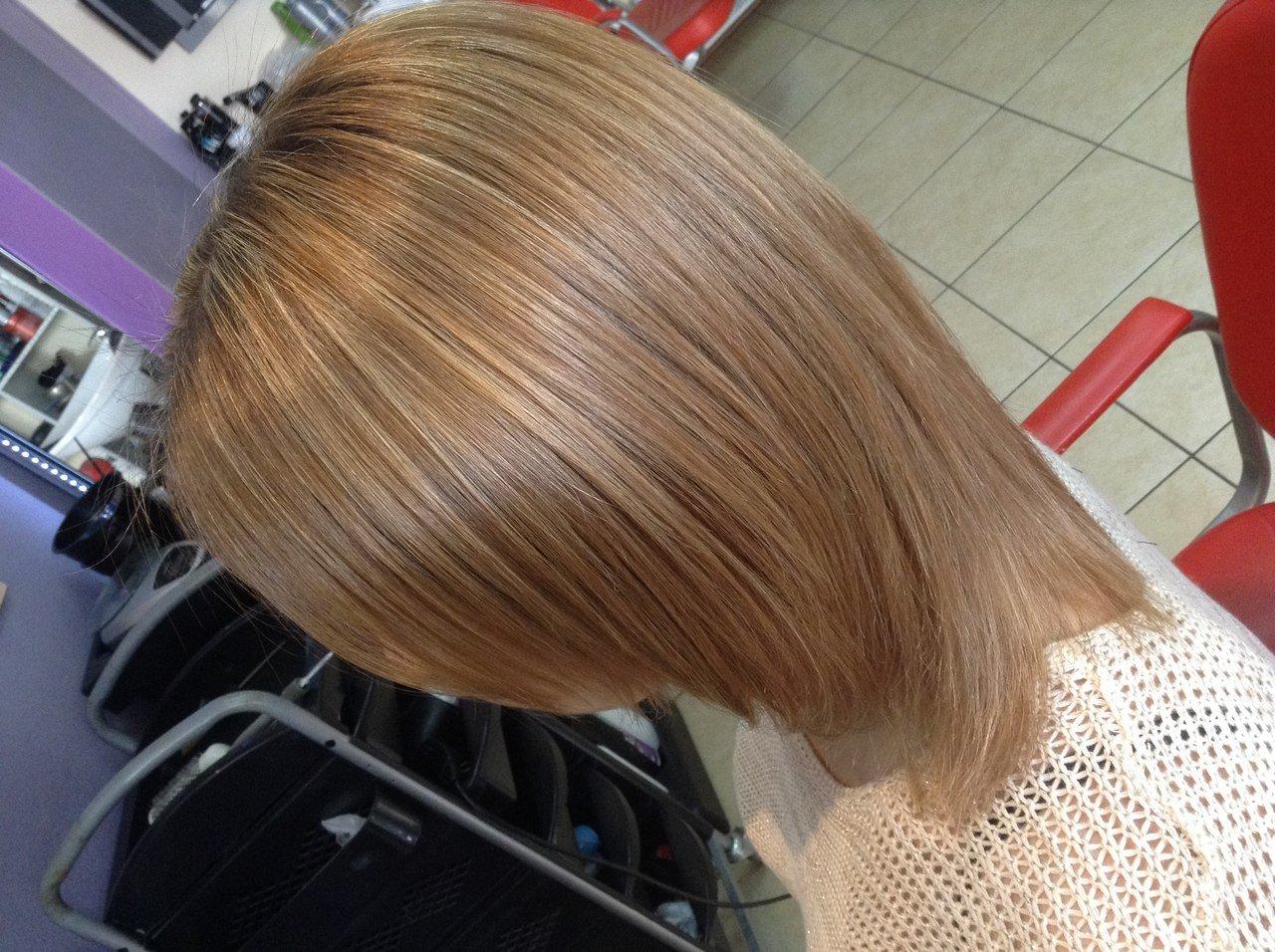Цвет волос русый фото на коротких волосах словосочетания